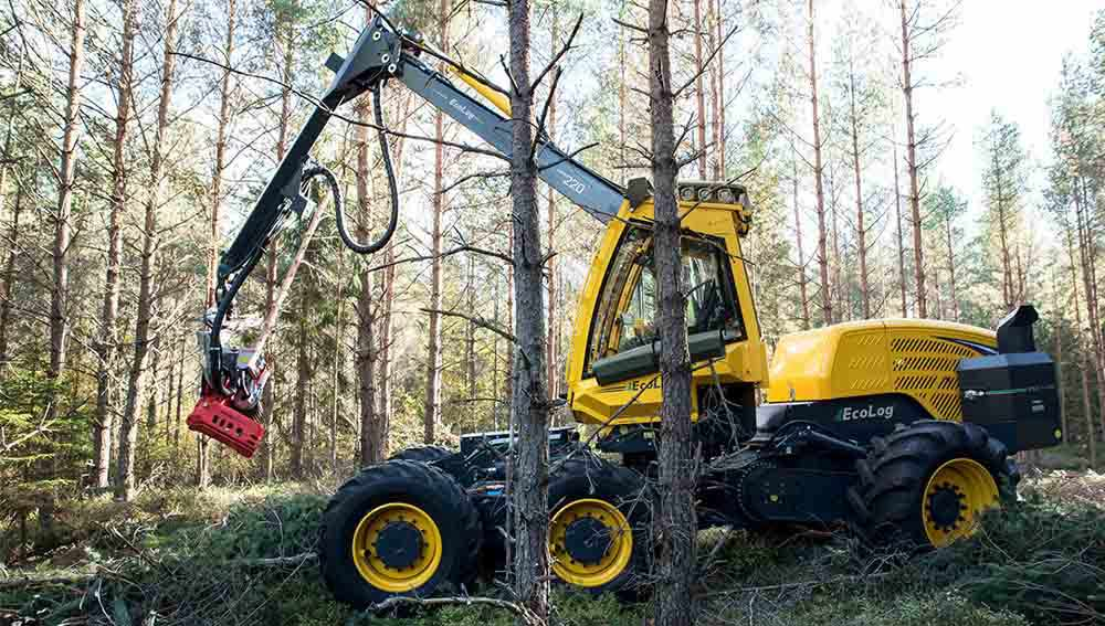 EcoLog Harvester 550 T PRO
