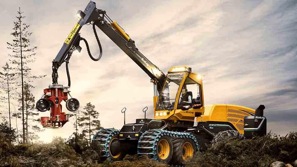 EcoLog Harvester 590E